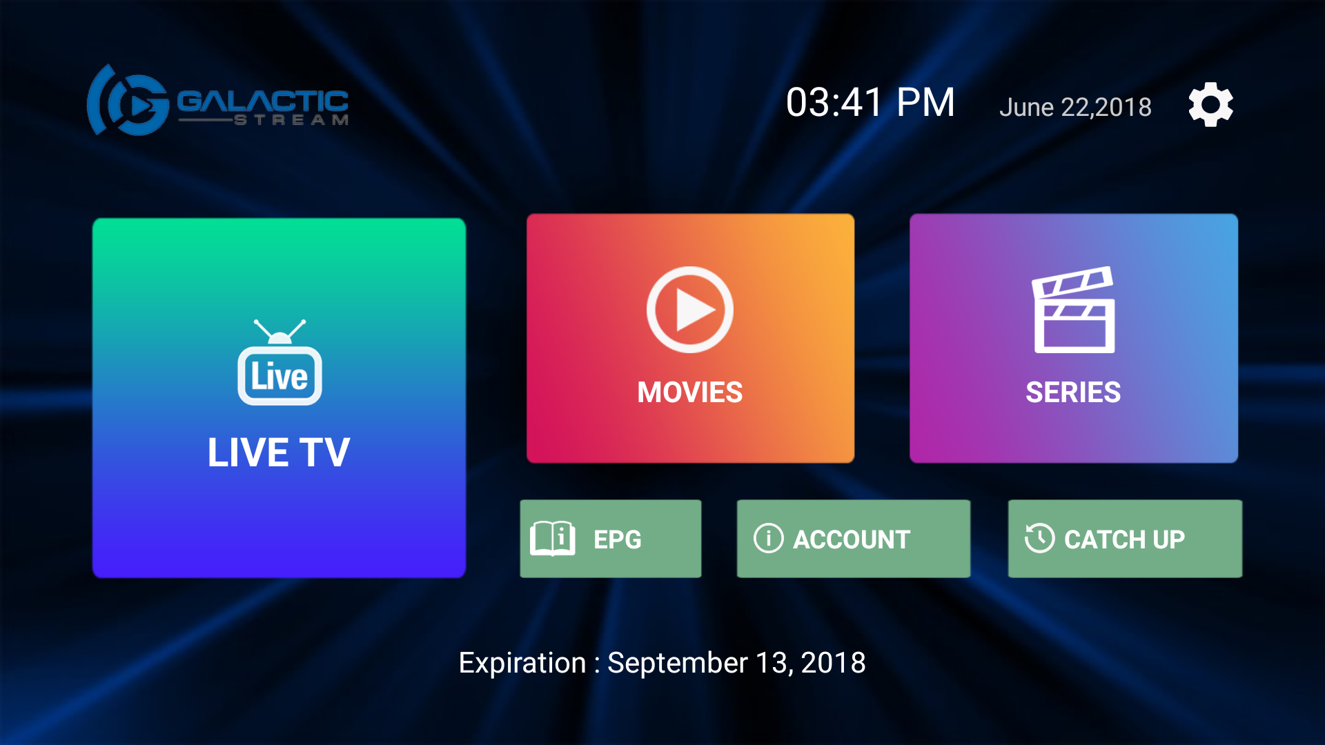 Live TV App For Up To 3 Devices